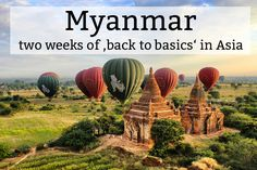 Myanmar, Burma or Birma – these names all refer to the same Asian country, located between Thailand, China, Lao, India and Bangladesh. To me, the former military dictatorship was simply a blank spot on the map of the world. But when I started researching the country, its culture and history, I knew Myanmar just had to be on the itinerary for my one-year long trip around the world. #myanmar #asia #birma #burma #traveling #travelblog #travelguide #travel