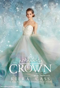 infernalheronstairs: Fanmade book cover for The Crown by Kiera Cass>>>>> I like this cover better than the real one!