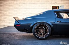 My first encounter with Miro's Camaro was unfinished, cut up, and aired out sitting inside Cyrious Garageworks, and even in that very unfinished state it was obvious something incre…