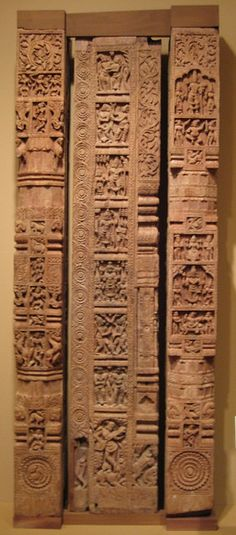 Carved Wooden Wall-Panels, India, Tanjore, Tamil Nadu, India - 17th century - Flickr - Photo Sharing!