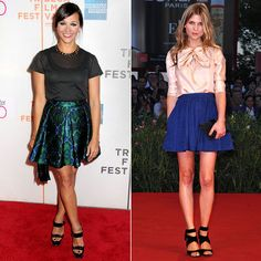 Try a Full Skirt | What to Wear Now!