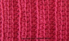 Tunisian Crochet Stitch Patterns