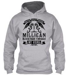 MILLICAN - My Veins Name Shirts #Millican