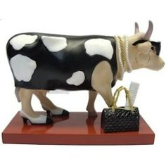 Cow Parade Fashion-a-Bull Collectible Figurine 47799