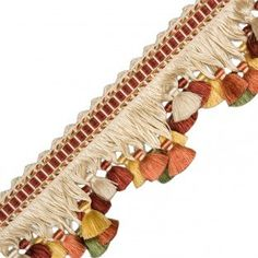 silk tassel fringe- Can't you see how this would tranform your window treatments?