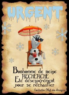 affiche olaf Walt Disney, Disney Pixar, Harry Potter Theme, Harry Potter Diy, Olaf, Disney Birthday, Art Party, Daddy, Chibi