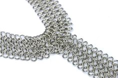 Silver Extra Long Chain Statement