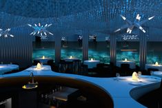 Maldiv'de Nefes Kesici Güzellikte Bir Su Altı Restoranı: Subsix | elitstil.com