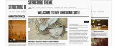 Download Structure – WordPress Theme