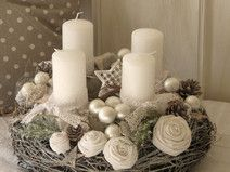 Adventskranz ★ WHITE VINTAGE DREAMS ★
