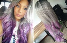 High Heat Synthetic Remy Human Feel Ombre by CherieHairExtensions