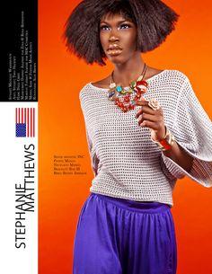 """Color Collision""  Styleology Magazine  photo by Stephanie Matthews, www.stephaniematthewsphotography.dphoto.com, Stylist: Michelle Washington, Stylist Asst: Theo Hackney Hair: Dana Gibbs, Makeup: Fatimot Isadare for Mac Cosmetics, Model: Sade, Fenton Moon, Retoucher: Alex Brown #fashion #editorial #styleology #magazine #NYC #fentonmoon"