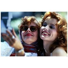 Film in tv Thelma Louise 25 curiosità sul film di Ridley Scott ❤ liked on Polyvore featuring pictures