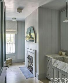 Farmhouse Bathroom Lights - ELLEDecor.com