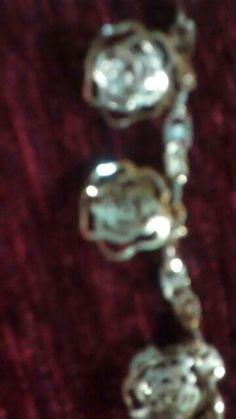3d rose bracelet
