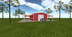 Cool 3D #marketing http://ift.tt/2zgfvK5 #barn #workshop #greenhouse #garage #roofing #DIY