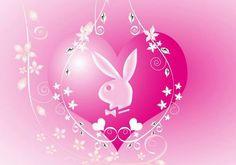Heart ♡ ♡ ♡ Playboy Bunny Tattoo, Bunny Tattoos, Playboy Logo, Bling Wallpaper, Wallpaper Backgrounds, Colorful Wallpaper, Hello Kitty Jewelry, Black Fairy, Bunny Logo