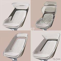 Car Interior Design, Interior Design Sketches, Yacht Interior, Automotive Design, Deco Furniture, Furniture Design, Aircraft Interiors, Car Interiors, Futuristic Furniture