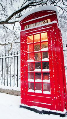 images of red hearts in snow with a red lantern | Red telephone box HD Wallpaper for iPhone 4/4S or iPhone 5 and iPod