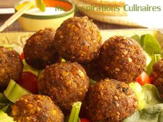 Recette Falafel facile Italian Soup Recipes, Beef Recipes, Vegetarian Recipes, Healthy Recipes, Falafels, Batch Cooking, Healthy Eating Tips, Food Inspiration, Love Food