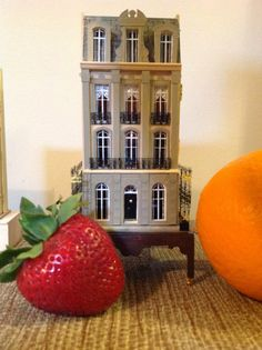 1/144th scale French townhouse