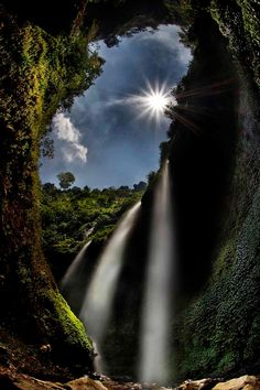 Madakaripura Waterfalls ~ Probolinggo, Indonesia