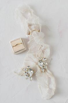 Styled by Tanja Kibogo Old World Wedding, Wedding Day, Wedding Ring, Garter Wedding, Hair Wedding, Boho Wedding, West Virginia Wedding, Wedding Flats, Bride Accessories