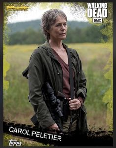 Carol Peletier Gold Week 1 Exclusive Insert Card The Walking Dead 2016 Topps