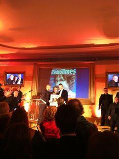 MARTIN!!!!!! ♥ {Twitter / RadioTimes: #Sherlock star and #TheHobbit's leading man Martin Freeman #RTCoversParty }