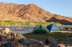 Camping here with the Orange River on your doorstep is incomparable.