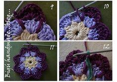 Bigú Handmade: Granny Nenúfar (Waterflower granny)...
