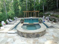 travertine tile pool deck pictures | Georgia Classic Pool arbor swimming pool travertine pool deck | Yelp