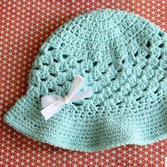 Complete your outfit with this adorable sun hat crochet pattern from Daisy Cottage Designs. This crochet summer hat is lightweight and perfect for the heat.