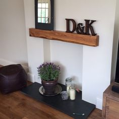 Newest Pics Fireplace Mantels with storage Strategies Hottest Free Fireplace Mantels with storage Style Modern Oak Beam Above Empty Fireplace Empty Fireplace Ideas, Oak Beam Fireplace, Unused Fireplace, Fireplace Shelves, Small Fireplace, Fireplace Design, Fireplace Mantels, Fireplace Decorations, Painted Fireplaces