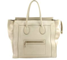 4d41c32f833d Celine Jumbo Luggage In Ivory Smooth Leather Large Luggage