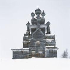 Ричард Дэвис, «Подпорожье» (проект «Деревянные церкви»)