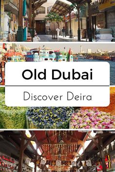 Subject Matter - 'Old Dubai', Deira Gold & Spice Souks & Dubai Creek - While Im Young and Skinny
