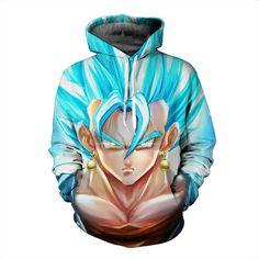 Dragon Ball Super Saiyan God Vegito Fusion Hoodie – Otakupicks