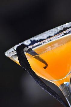 Tangerine-Vanilla Martini