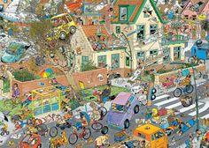 """Jan Van Haasteren """"Storm"""" 1000 Piece Jigsaw Puzzle"""