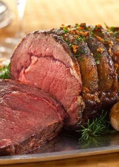 Garlic Prime Rib Recipe ~ Great Meals. Dessert And Cake Recipes.