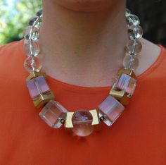1940's Lucite necklace from Jean Jean Vintage @Etsy