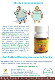 BodyZip is a secret tribal formula for zipping your body in a proper health and shape without any Dos & Donts. This thoroughly researched product is based on age old tried, tested and trusted tribal traditional herbal knowledge. It is made from wildly collected herbs, processed & manufactured in GMP facility and  is 100% safe.