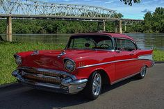 This 1957 Chevrolet BelAir has been to several car shows in the Shawnee Mission, Kansas area.