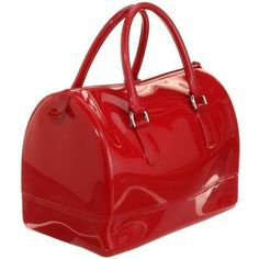 furla in red. I use this bag for rainy days