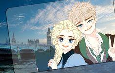 Jelsa Hogwarts & Beauxbaton