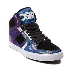Mens Osiris NYC 83 Vulc Digi Nebula Skate Shoe
