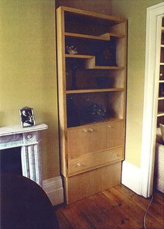 Natural Wood, Bookcase, Shelves, Projects, Home Decor, Log Projects, Shelving, Blue Prints, Decoration Home