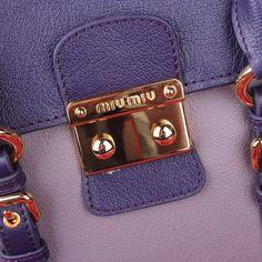 Miu Miu Madras Goat Leather Top Handle Bag Light Blue 21 #bagsforsale
