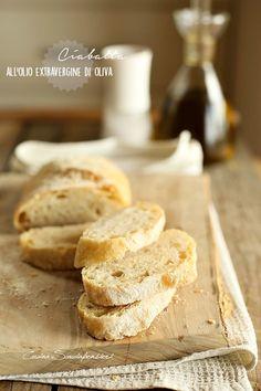 Cucina Scacciapensieri: Ciabatta all'olio extravergine di oliva